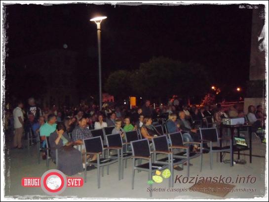 Tudi na zadnji koncert Aninega festivala je prišlo veliko obiskovalcev.