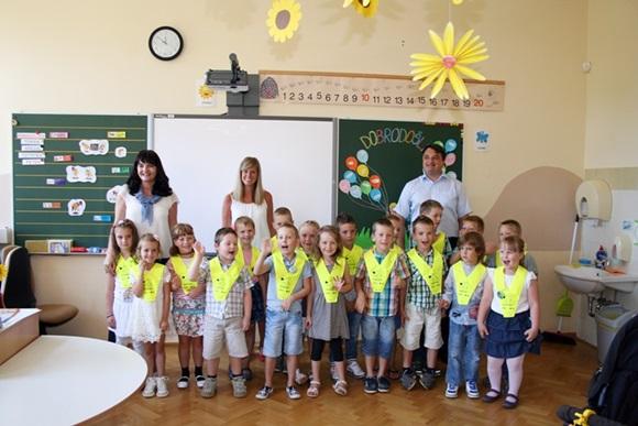 Prvošolci OŠ Bistrica ob Sotli