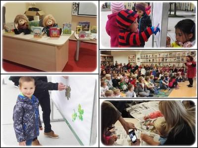 Knjižnica Rogaška Slatina je v Tednu otroka pripravila bogat program za otroke.
