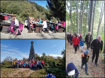 Otroci so Teden otroka zaključili s pohodom na Donačko goro.