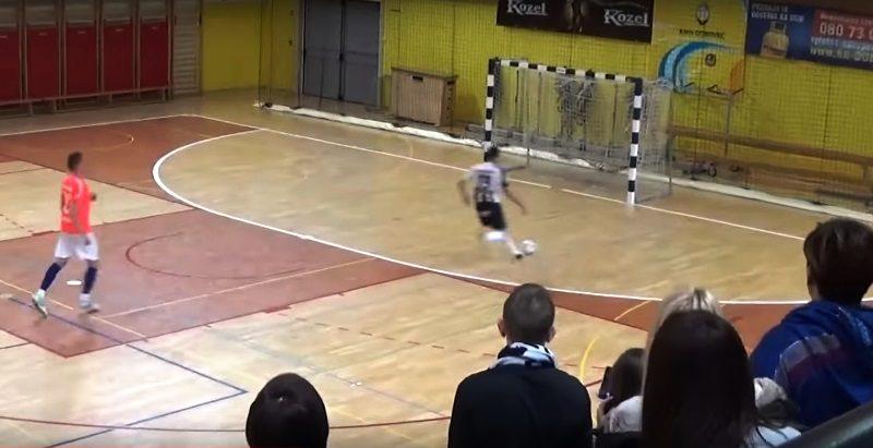 Jaka Bizjak je zmagoviti gol dosegel v prazna gostujoča vrata. Foto: Youtube.