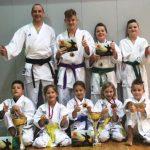 Kozjanski karateisti organizirali DP in pobrali glavna odličja!