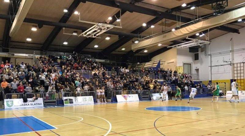 Polne slatinske tribune niso videle zmage. Foto: KK Rogaška.