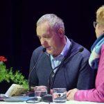 Večer aforizmov in politične satire v Ipavčevem kulturnem centru (video)
