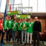 Člani ekipe RoboBos iz Bistrice ob Sotli najboljši mladi inženirji konstruktorji First Lego League