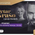 Vabimo na tradicionalni koncert ob dnevu žena s Petrom Grašom in gostjo Danijelo v Velenje – vstopnice pol ceneje
