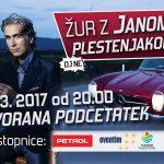 Vabimo na veliki žur z Janom Plestenjakom v Podčetrtek