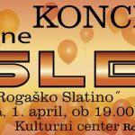 Vabimo na koncert skupine Sled v Rogaško Slatino