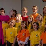 Revija otroških in mladinskih pevskih zborov občine Šentjur Mi smo pomlad 2017 (foto, video)