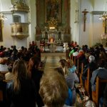 Blagoslov velikonočnih jedi v župniji Šentjur (foto)