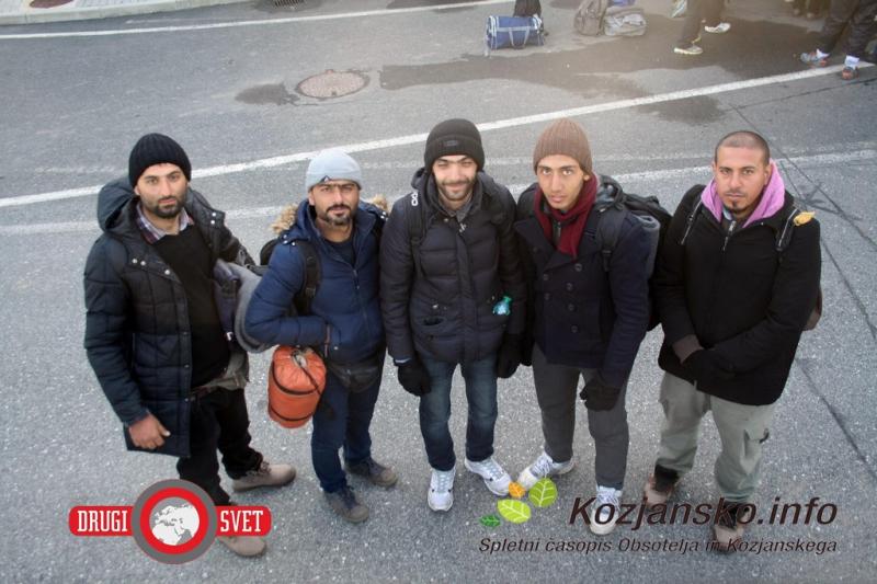 Pet beguncev iz Damaska, ki bodo svoj novi dom našli v Šmarju pri Jelšah