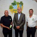 Šmarje pri Jelšah: županovo vino 2017 je sauvignon vinogradnika Andreja Tratenška