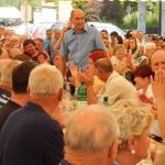 Janez Janša v Šmarju: »Rešitev za Slovenijo je, da dobri ljudje gredo na volitve«