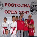 Karateisti iz Postojne z dvema zlatima in skupno devetimi medaljami