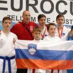 Karateisti do medalj v Avstriji