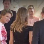 Mojca Stropnik elegantna ob Melanii Trump (video)