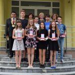 Najboljši devetošolci OŠ Podčetrtek na sprejemu pri županu