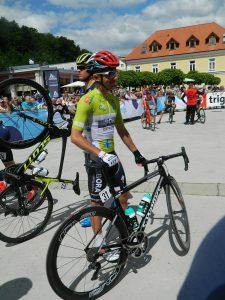 Zmagovalec dirke Po Sloveniji Rafal Majka