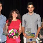 Večer presežkov za Šolski center Rogaška Slatina; naj dijaki: Luka Tacer, Anja Prešern in Niko Volarić