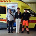Irena Nunčič se je od ZD Šmarje poslovila z obnovljenimi prostori in novim reševalnim vozilom