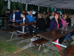 Ramna Jazz festival je kljub dežju privabil številne obiskovalce.