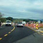 Pri Šentjurju promet po dveh nadomestnih mostovih