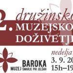 Vabimo na 2. družinsko muzejsko doživetje v Muzej baroka Šmarje