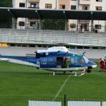 Zakaj tuljenje siren in helikopterski pristanek v Šmarju