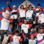 Maratonski pohod na Triglav uspel