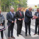 Cesto na Halarjevem hribu slavnostno odprl minister za infrastrukturo