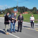 Med Proseniškim in Ljubečno skoraj kilometer prenovljene ceste in nov pločnik