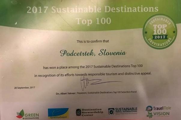 priznanje_podcetrtek_zelena_destinacija_sveta_2017