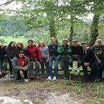 Maturanti ŠC Rogaška Slatina raziskovali največje presihajoče jezero na svetu