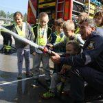 Ob tednu otroka so se šmarski otroci znova navduševali nad gasilci, vojaki, policisti … (foto)
