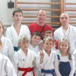 Karateisti začeli s šolsko ligo: uspešen krstni nastop novincev