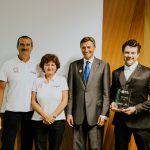 Matic Vizjak postal Inovativni mladi kmet 2017