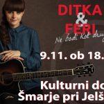 Vabimo na koncert uglasbene poezije Ditke in Ferija Lainščka: Ne bodi kot drugi