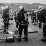 V Šmarju nenapovedana gasilska vaja (foto)