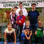 Karateisti v Ljubljani med več kot sto klubi do 13 medalj