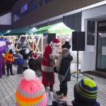 Božiček obiskal šentjursko mestno ognjišče (foto)