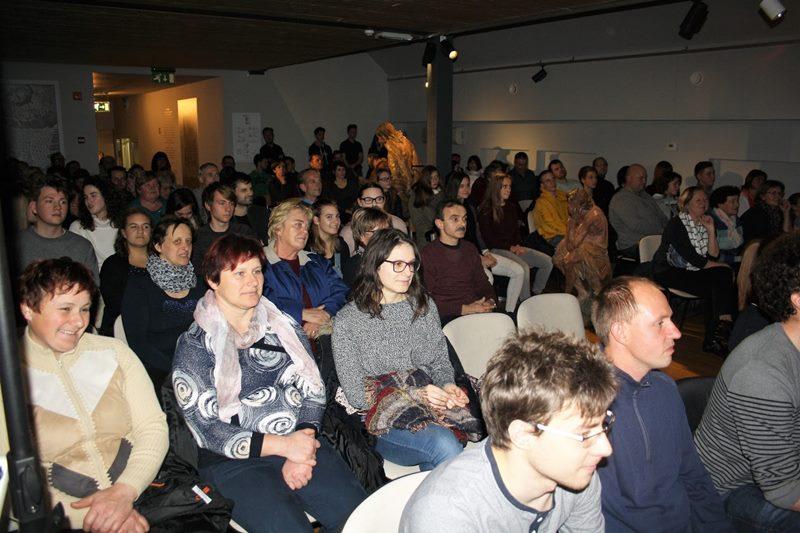 Muzej Baroka je bil nabito poln (foto: A. Č.)