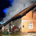 Pri Dramljah pogorela hiša (dopolnjeno)