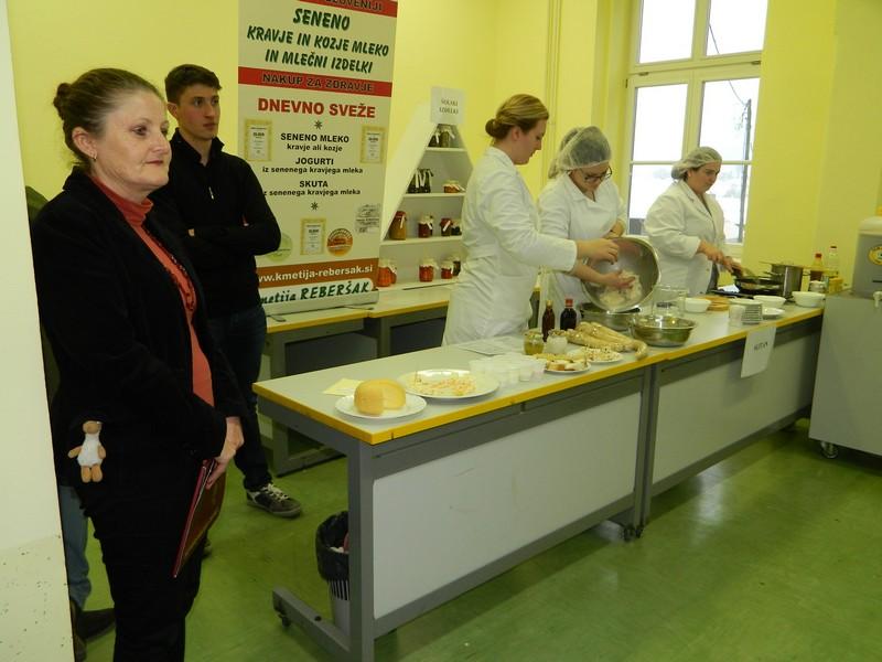 Informativni dan je obiskovalcem Šolskega centra Šentjur postregel tudi s prikazom številnih praktičnih znanj.