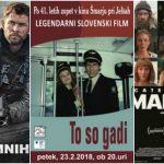 Vabimo v kino Šmarje: To so gadi, 12 pogumnih, Čebelica Maja, Fantomska nit