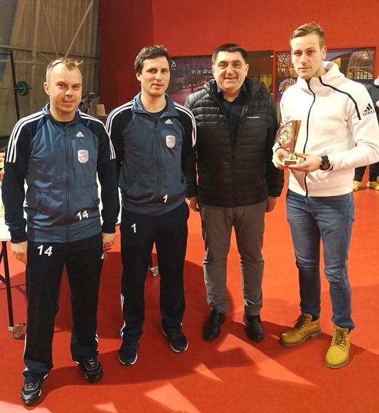 Kralj strelcev ZLMN Podčetrtek, Matic Lokovšek, je dosegel 26 golov