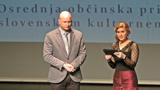 Marko Repnik in Nastija Močnik