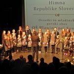 V Šentjurju podelili 12 kulturnih priznanj. Mladi navdušili z izvrstnim programom (video)