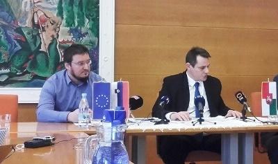 Anže Rezar, predsednik SKS Blagovna, in mag. Marko Diaci, župan Občine Šentjur
