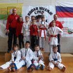 Karateisti v Velenju najprej uspešno na tekmi, potem pa še na reprezentančnem izboru