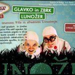 Vabimo na otroško predstavo Glavko in Zbrk – Lunožer v Šetnjur – brezplačne vstopnice